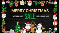 New year,Christmas,Christmas sale,party,event Blog Header template