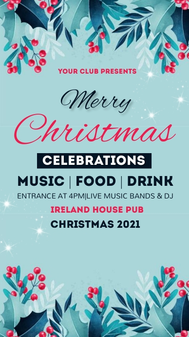 New year,Christmas,Christmas sale,party Instagram Story template