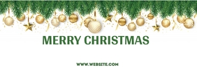 New year,Christmas,Christmas sale Spanduk Tumblr template