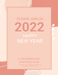 New year,event party Blog-Kopfzeile template