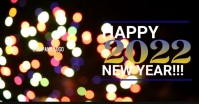 New Year 2020 Facebook Shared Image template