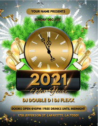 NEW YEAR 2020 FLYER TEMPLATE