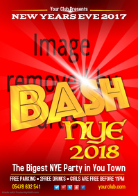 New Year Bash Poster