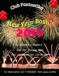 New Year Bash Template