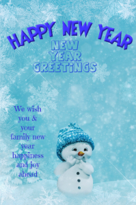 new year card,new year template,NEW YEAR FLYER,poster