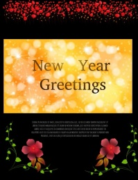 new year card,online card