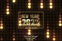 new year celebration poster template,event poster template