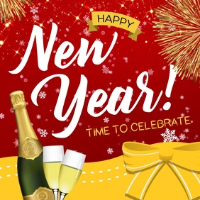 New Year Celebration Event Instagram Video