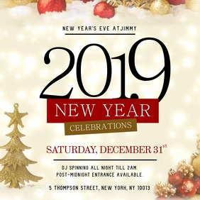 New Year Celebration Instagram Video Template
