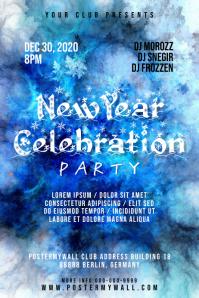 New Year Celebration Poster