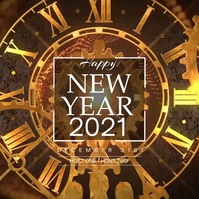 New Year Clocks