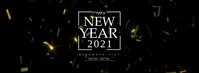 New Year Confetti template