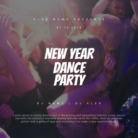 New Year Dance Party