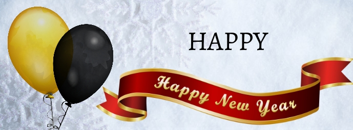 New Year Facebook-coverfoto template
