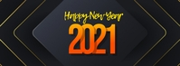 New Year Facebook Cover Photo Template
