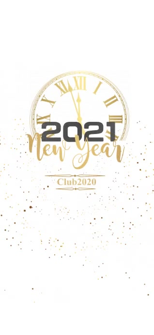 New Year Flyer, Happy New Year Geofilter Snapchat template