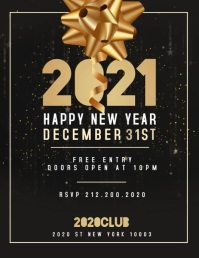 New Year Flyer, Happy New Year VIDEO