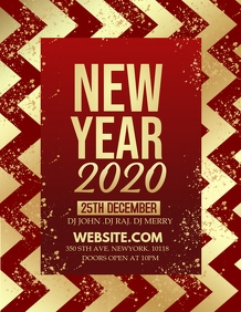 new year flyer,Event flyers,party flyers
