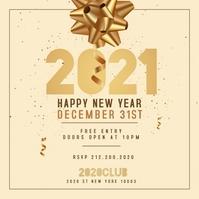 New Year Instagram Flyer, Happy New Year