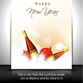 New Year InstagramCard Template