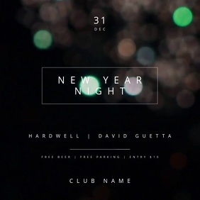 New Year Night Party