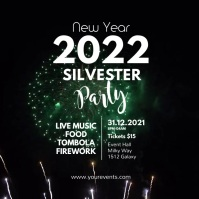 New Year Party Celebration Event Video Advert