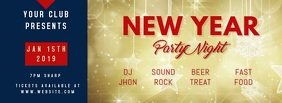 NEW YEAR PARTY FACEBOOK COVER