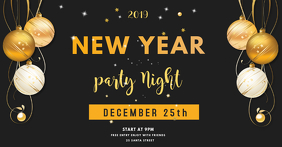 new year party facebook shared image