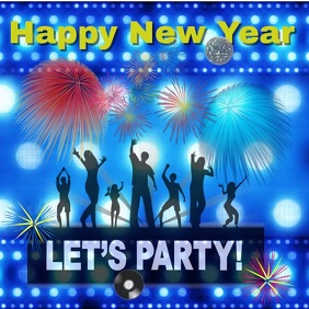 new year party/night club/new years eve