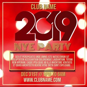 New Year Party Night Video Template