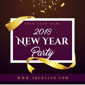 New Year Party Video Template