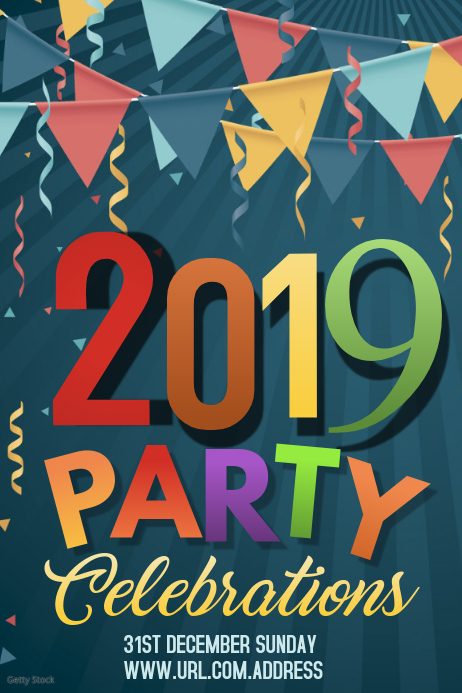 new year poster templates ,Event poster templates