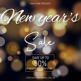 NEW YEAR SALE EVENT DIGITAL VIDEO