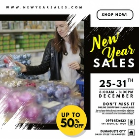 New Year Sale Online Promo Video Ad