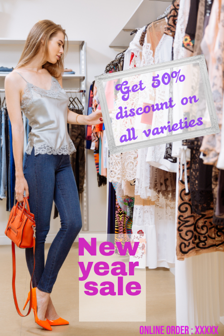new year sale poster,new year offers flyers,