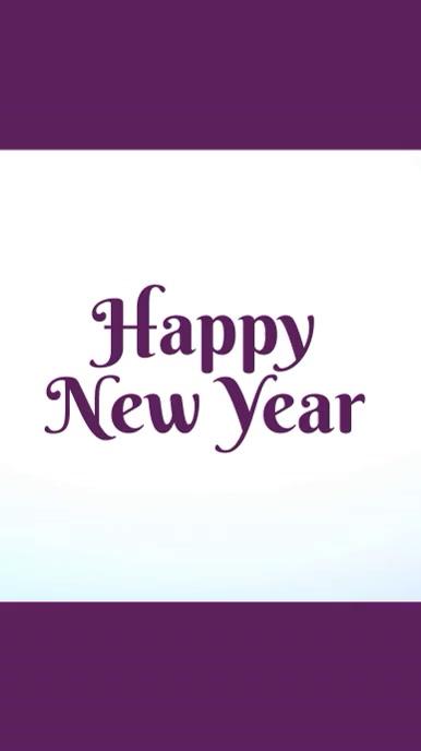 new year template Estado de WhatsApp