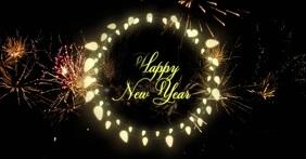 new year template Sampul Acara Facebook