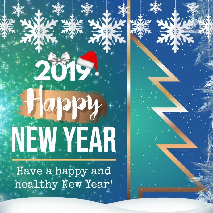 New Year Wish Instagram Video