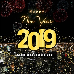 New Year Wish Instagram Video Template