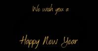 New Year wishes Ibinahaging Larawan sa Facebook template