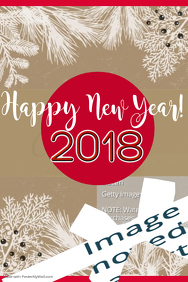 New Year Wishes Poster Template