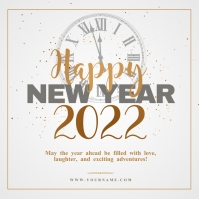 New year wishes Template Iphosti le-Instagram