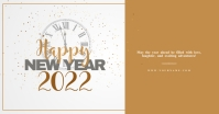 New year wishes Template Imagen Compartida en Facebook