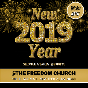 NEW YEARS 2019 FLYER