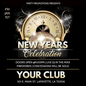 NEW YEARS 2020 CLUB FLYER