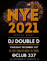 NEW YEARS 2020 FLYER TEMPLATE
