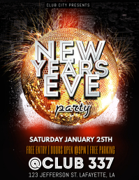 NEW YEARS 2020 PARTY FLYER TEMPLATE
