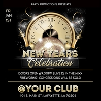 NEW YEARS 2021 CLUB FLYER TEMPLATE Album Cover