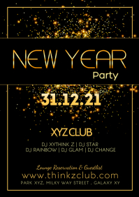 New Year Celebration Silvester Party Event