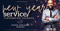 new years Church Event Flyer Template Facebook Shared Image
